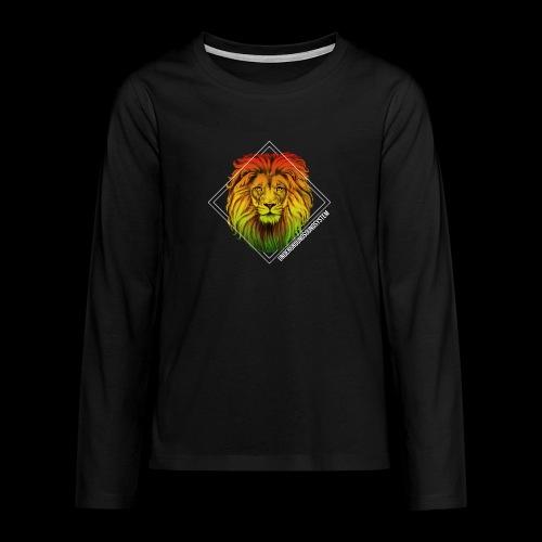 LION HEAD - UNDERGROUNDSOUNDSYSTEM - Teenager Premium Langarmshirt