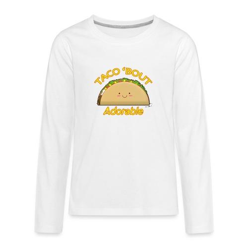 taco - Maglietta Premium a manica lunga per teenager