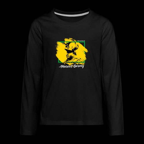 MARCUS GARVEY by Reggae-Clothing.com - Teenager Premium Langarmshirt