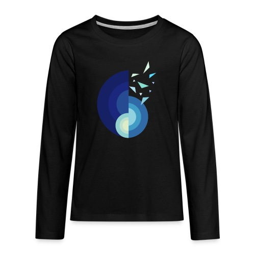 GLACE - MINIMALISTE - T-shirt manches longues Premium Ado