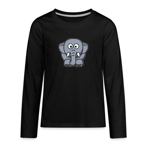 Olifantje - Teenager Premium shirt met lange mouwen