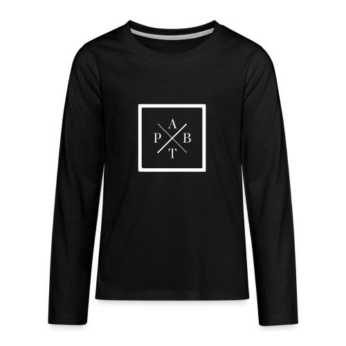 Transparent - Teenagers' Premium Longsleeve Shirt