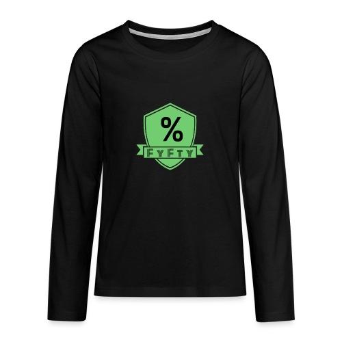 D38ED234 D537 4561 B7C3 826E8A15AF48 - Camiseta de manga larga premium adolescente