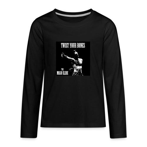 Twist Your Bones - Design 1 - Teenagers' Premium Longsleeve Shirt
