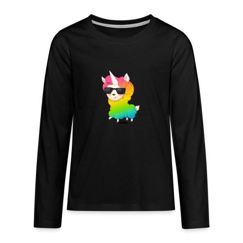 Regenbogenanimation - Teenager Premium Langarmshirt