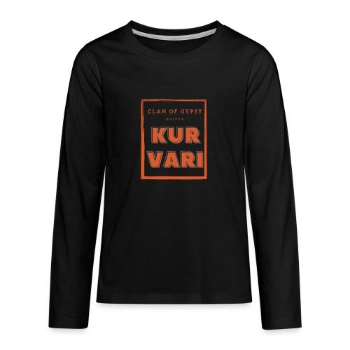Clan of Gypsy - Position - Kurvari - Teenagers' Premium Longsleeve Shirt