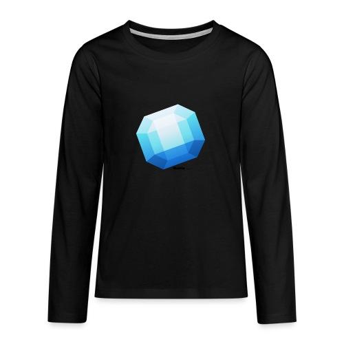 Saffier - Teenager Premium shirt met lange mouwen