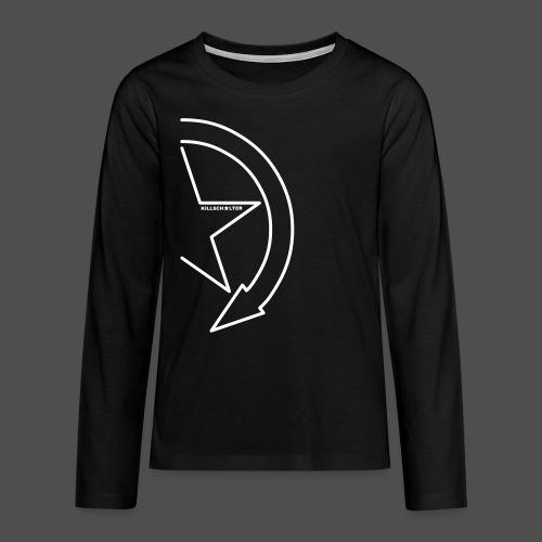Brand Logo 1/2 we - Teenagers' Premium Longsleeve Shirt