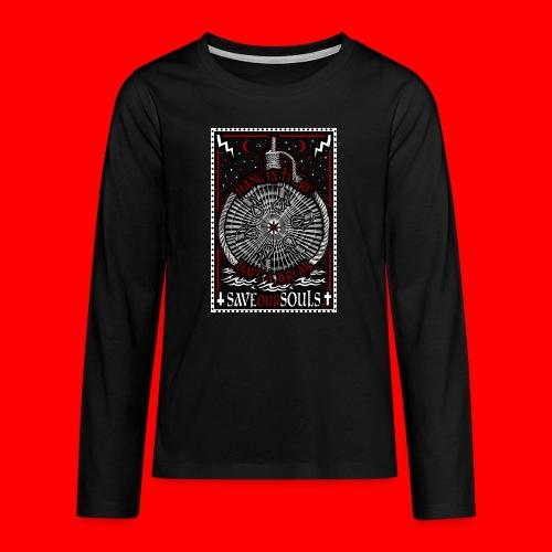SaveOurSouls - Teenagers' Premium Longsleeve Shirt