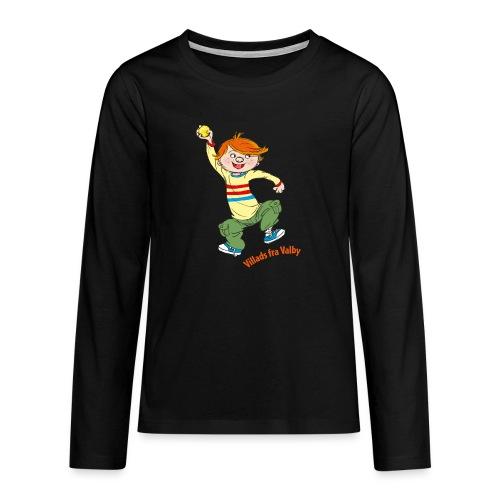 Villads fra Valby - Teenager premium T-shirt med lange ærmer