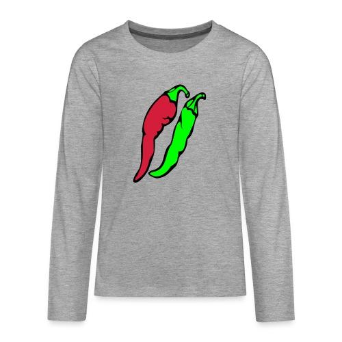 Chilli - Koszulka Premium z długim rękawem dla nastolatków