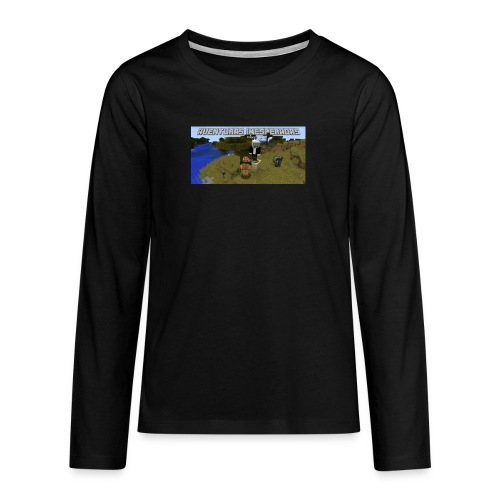 minecraft - Teenagers' Premium Longsleeve Shirt