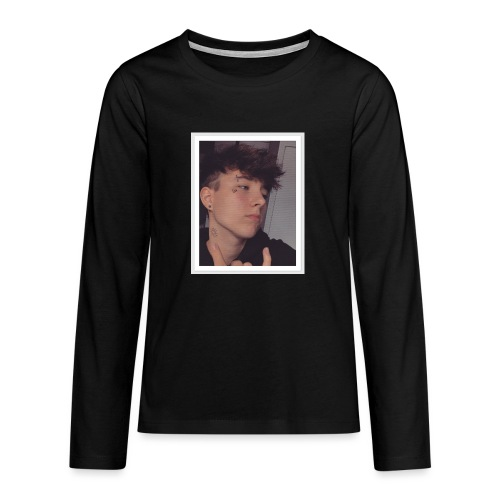 Face tattoo picture - Teenagers' Premium Longsleeve Shirt