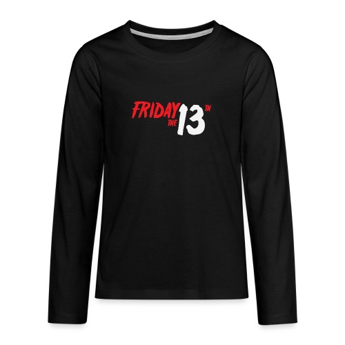FRIDAY 13 - Camiseta de manga larga premium adolescente