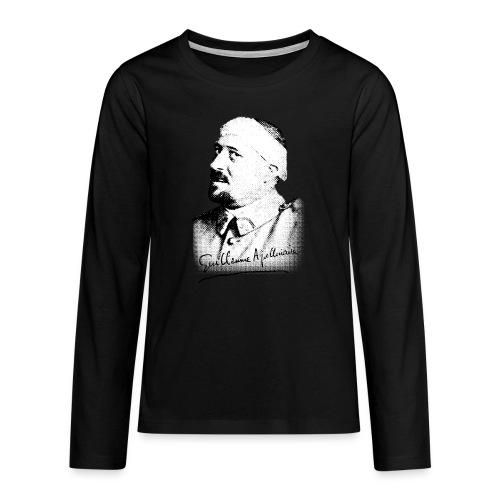 Débardeur Femme - Guillaume Apollinaire - T-shirt manches longues Premium Ado