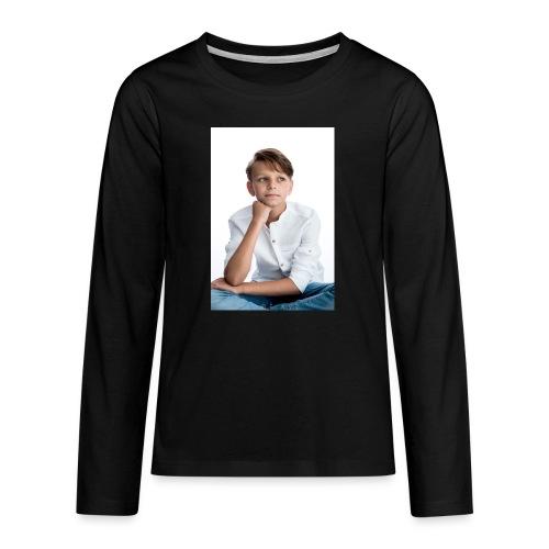 Sjonny - Teenager Premium shirt met lange mouwen