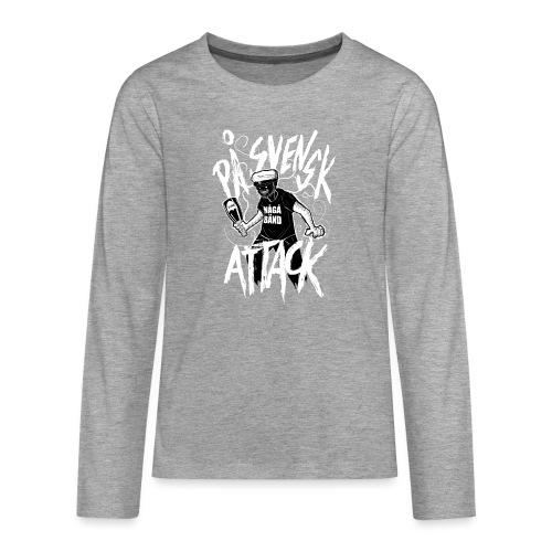 På Svenska Tack - Teenagers' Premium Longsleeve Shirt