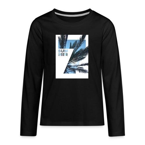 Summertime - Teenager Premium shirt met lange mouwen