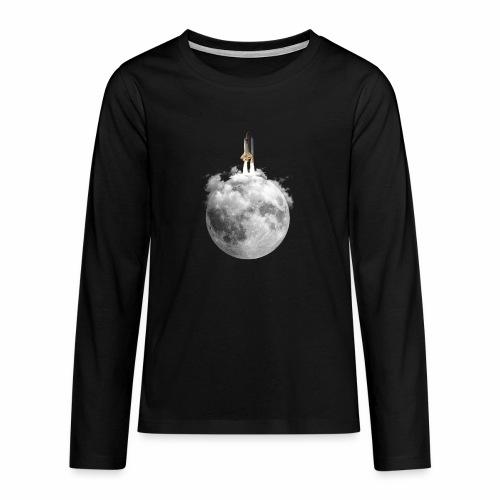 Mondrakete - Teenager Premium Langarmshirt