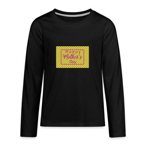 Muttertag - Teenager Premium Langarmshirt