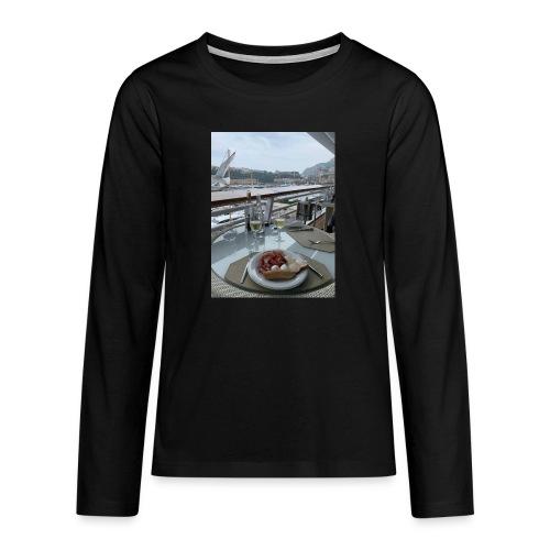 Monaco - Teenager Premium Langarmshirt