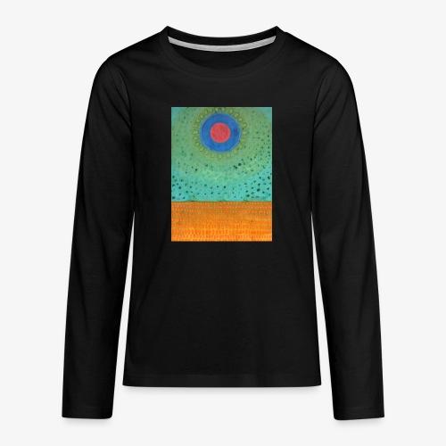 Noc Nad Pustynią - Koszulka Premium z długim rękawem dla nastolatków