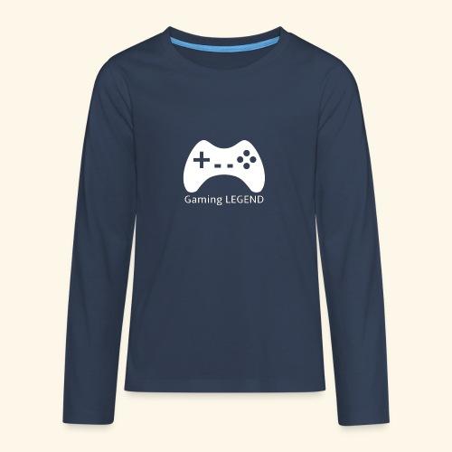 Gaming LEGEND - Teenager Premium shirt met lange mouwen