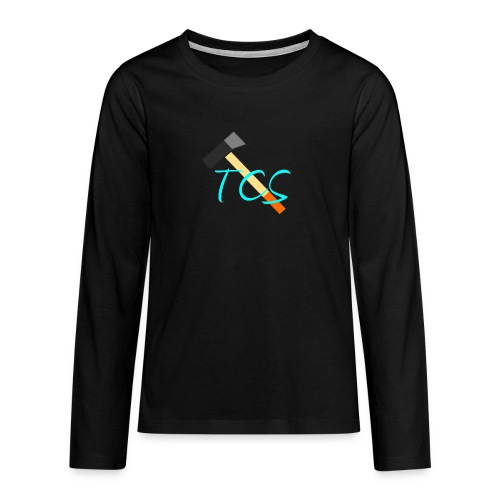 tcs drawn - Teenagers' Premium Longsleeve Shirt