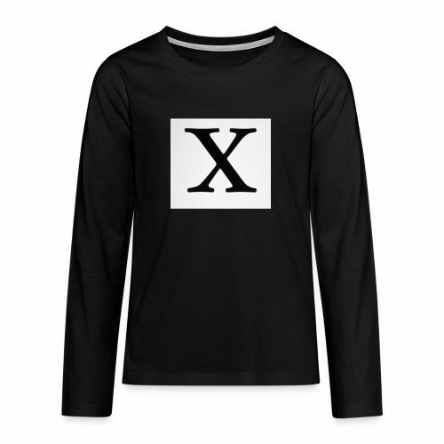 THE X - Teenagers' Premium Longsleeve Shirt