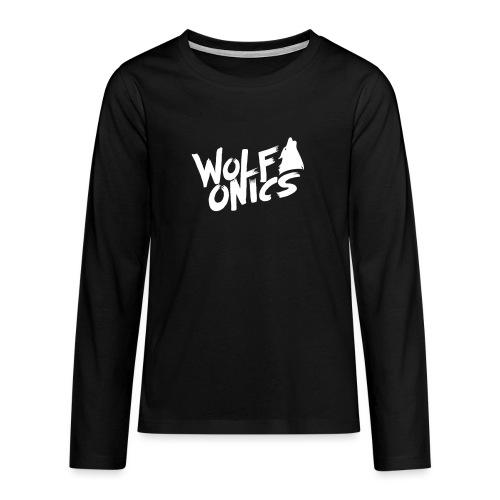 Wolfonics - Teenager Premium Langarmshirt