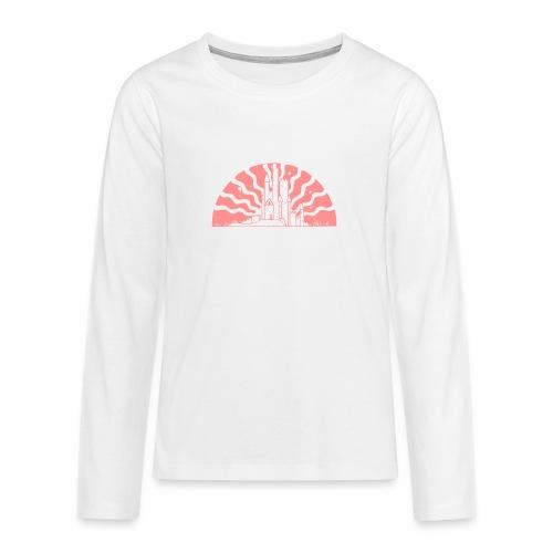Fairytale Castle Sunrise - Teenager Premium Langarmshirt