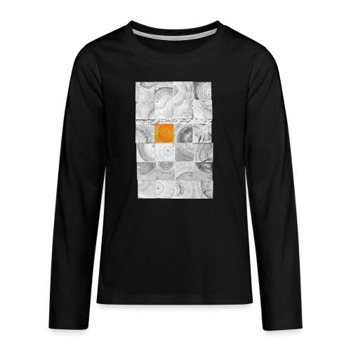 Cubes de Bois - T-shirt manches longues Premium Ado
