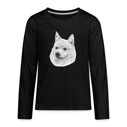 norwegian Buhund - Teenager premium T-shirt med lange ærmer