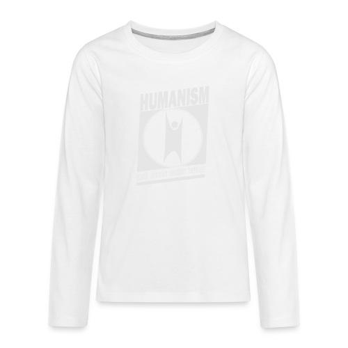 Humanism - Teenagers' Premium Longsleeve Shirt