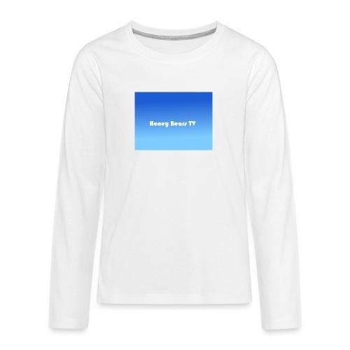 Honey Bears TV Merch - Teenagers' Premium Longsleeve Shirt