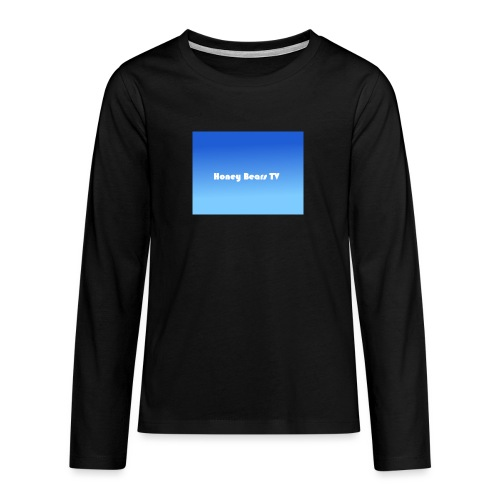 Honey Bears TV Merch - Teenagers' Premium Longsleeve Shirt