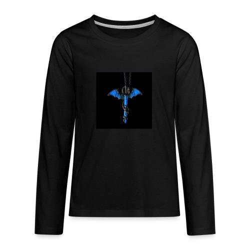 hauptsacheAFK - Teenager Premium Langarmshirt