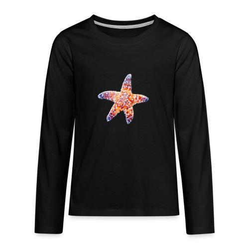 Seestern - Teenager Premium Langarmshirt