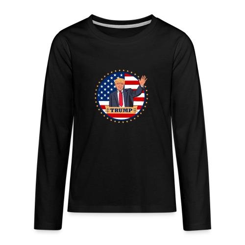 Trump - Teenager Premium Langarmshirt