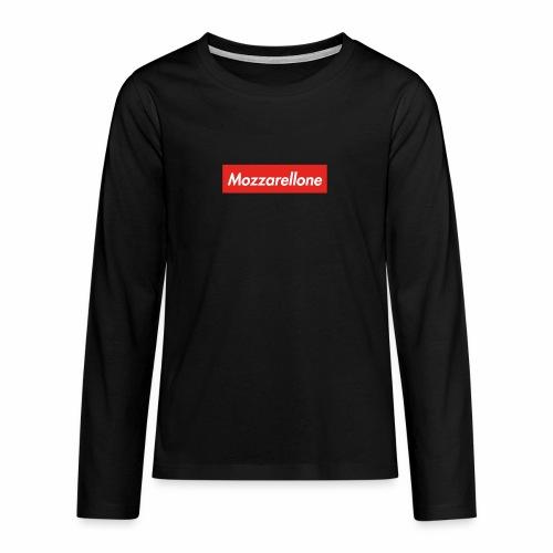 Mozzarellone - Maglietta Premium a manica lunga per teenager