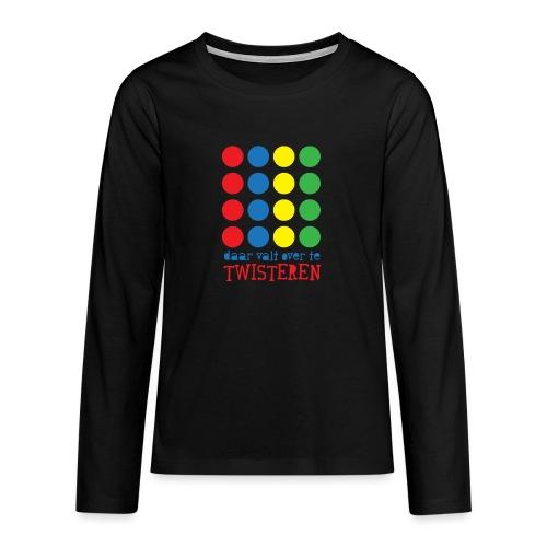 Twister - Teenager Premium shirt met lange mouwen