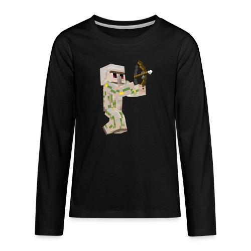Bow Shooter - Långärmad premium T-shirt tonåring