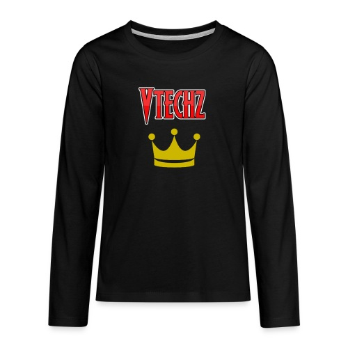 Vtechz King - Teenagers' Premium Longsleeve Shirt