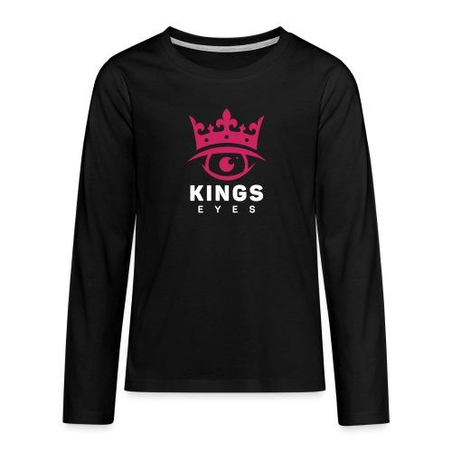 Kingseyes - Premium langermet T-skjorte for tenåringer