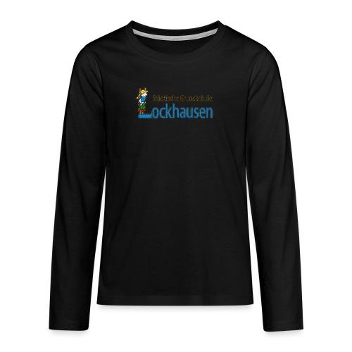 logoGsLockhausen - Teenager Premium Langarmshirt