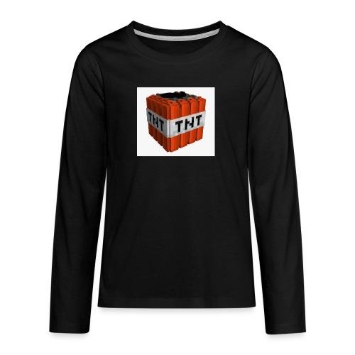 tnt block - Teenager Premium shirt met lange mouwen