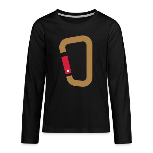 Karabin - Teenager Premium Langarmshirt