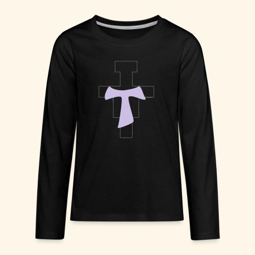 crocitau - Maglietta Premium a manica lunga per teenager