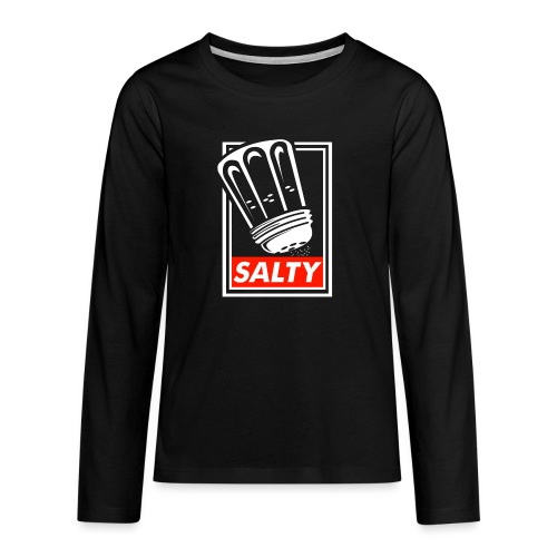 Salty white - Teenagers' Premium Longsleeve Shirt