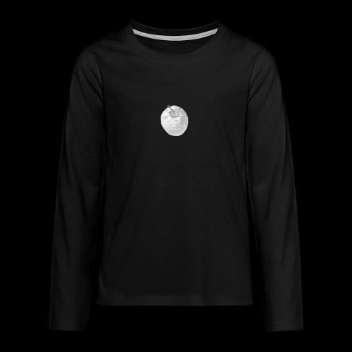 Apfel - Teenager Premium Langarmshirt